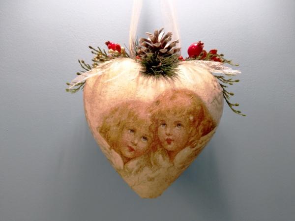 """Новогоднее украшение """"Ангелы"""""""