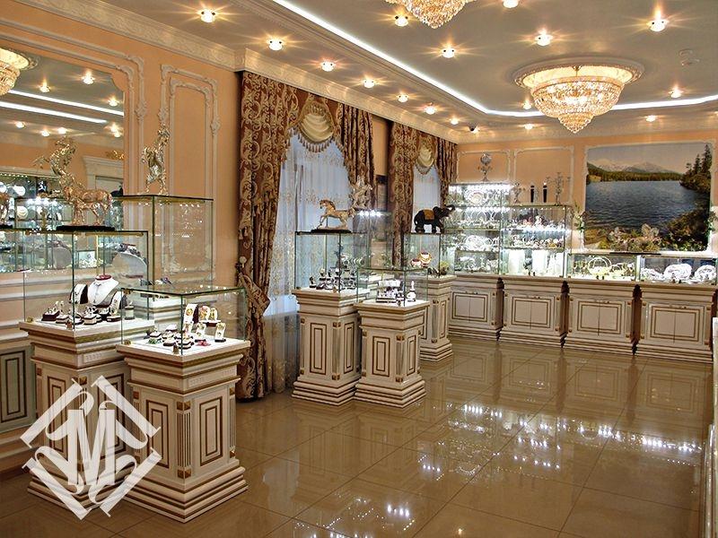 Дизайн-проект ювелирного магазина.