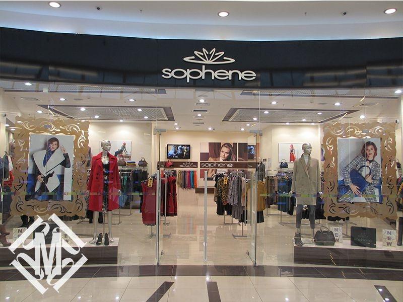Проект магазина женской одежды.