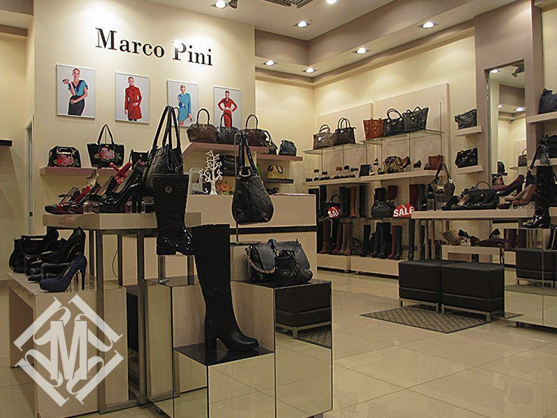 Дизайн-проект магазина женской обуви.