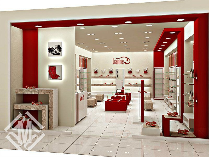 Дизайн-проект обувного магазина.