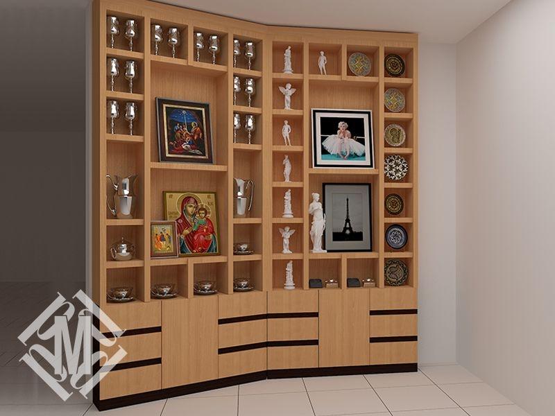 Шкаф для сувениров на заказ.